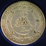 BCCA Medal