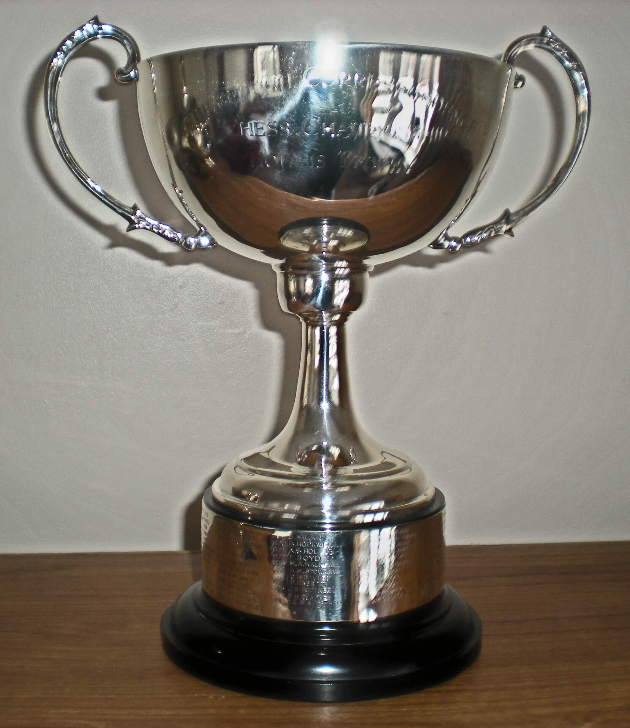 Bcca Silver Trophies British Correspondence Chess